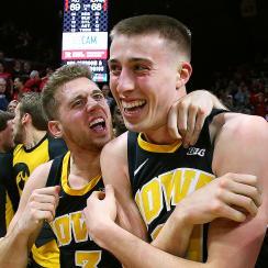 Iowa buzzer beater rutgers