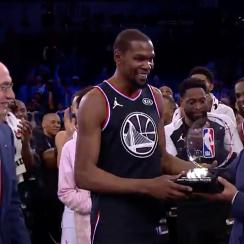 Kevin Durant, Team Giannis, Team LeBron, NBA all star game, kevin durant nba all star game Mvp, who is the nba all star game mvp, warriors, golden state warriors