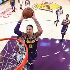 San Antonio Spurs v Los Angeles Lakers