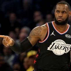 LeBron James says playoff intensity is activated