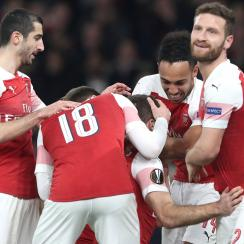 Arsenal is through to the Europa League last 16