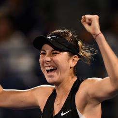 Belinda Bencic beats Elina Svitolina Dubai WTA
