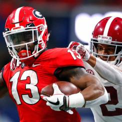 NFL draft 2019: Elijah Holyfield, Benny Snell to overcome bad combine