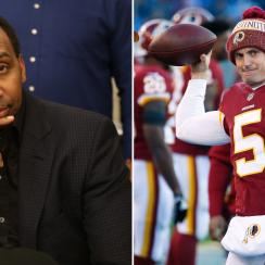 Tress Way video: Stephen A. Smith says Redskins punter started at QB