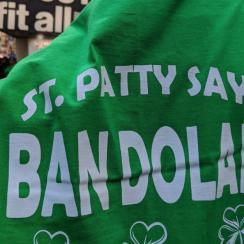 Ban Dolan shirts confiscated from Madison square Garden