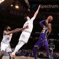 Mario Hezonja game-winning block on LeBron James