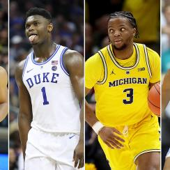 NCAA tournament 2019 team rankings March Madness Duke UNC Virginia