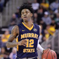 NCAA tournament upset picks March Madness 2019 Murray State Ja Morant