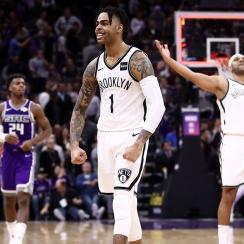 Russell leads Nets comeback win vs Kings