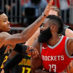 Kent Bazemore response to James Harden move