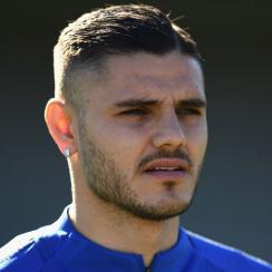 Mauro Icardi is back in training for Inter