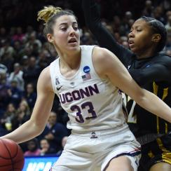 NCAA BASKETBALL: MAR 22 Div I Women's Championship - First Round - Towson v UConn