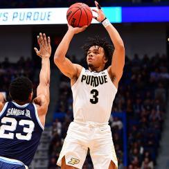 March Madness 2019 NCAA tournament Purdue Villanova Carsen Edwards Sweet 16