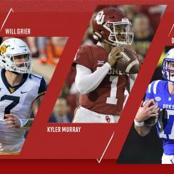 NFL Mock Draft: Will Grier, Kyler Murray, Daniel Jones