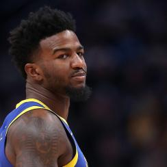 Warriors' Jordan Bell suspended over hotel candle charge