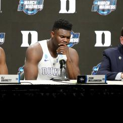 Final Four 2019: Coach K, Duke basketball fails Zion Williamson, RJ Barrett
