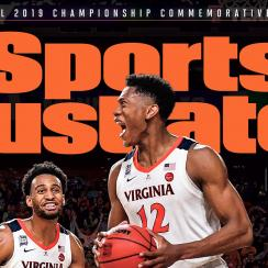 Virginia Sports Illustrated cover national championship 2019 March Madness