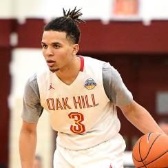 Cole Anthony recruiting commits UNC basketball North Carolina Tar Heels 2019