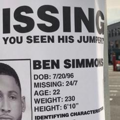 Ben Simmons missing jumper poster