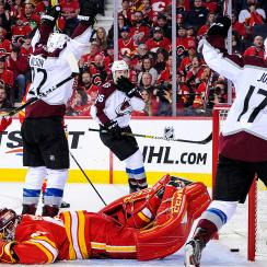 Colorado Avalanche v Calgary Flames - Game Five