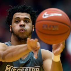 Mississippi State's Quinndary Weatherspoon