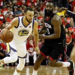 Steph Curry vs. James Harden