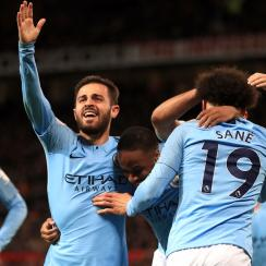 Manchester City beats Manchester United to go back atop the Premier League