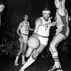 Jim McGregor all-star teams that toured Europe: Bill More and the Levi's All-Stars