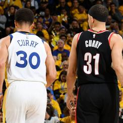 Seth Curry tries jinxing Steph Curry