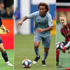 Teenagers Paxton Pomykal, Gianluca Busio and Brenden Aaronson are enjoying breakout MLS seasons