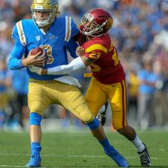 college football, ucla, usc, Wilton Speight, Jonathan Lockett