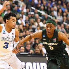 ACC Big Ten Challenge 2019 basketball Duke Michigan State Cassius Winston Tre Jones
