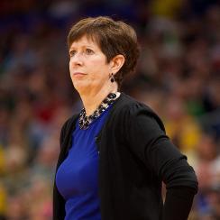 Notre Dame basketball Muffet McGraw women's equality speech Final Four