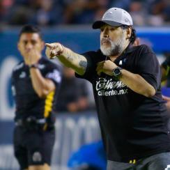 Diego Maradona is out as Dorados manager
