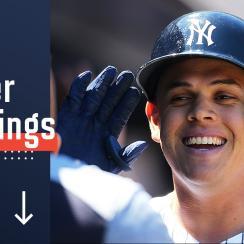 MLB Power Rankings standings Yankees Gio Urshela