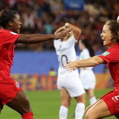 Women's World Cup Canada Nichelle Prince New Zealand goal