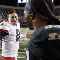 Johnny Manziel in XFL draft maybe