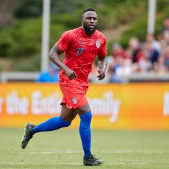 Jozy Altidore leads the line for the USA in the Gold Cup