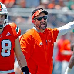 Miami Manny Diaz 2019 season first year coach Tate Martell