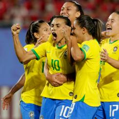 Marta is the new all-time leading goal scorer in the history of the World Cup–men's or women's