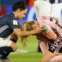 Argentina comes back from 3-0 to draw Scotland at the Women's World Cup