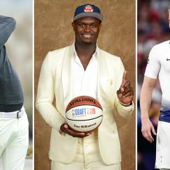 Athletes who could play in the NFL: Koepka, Zion Williamson, Harry Kane
