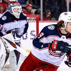 NHL: MAR 19 Blue Jackets at Flames