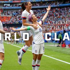 USA women's soccer team