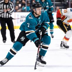 NHL: MAR 31 Flames at Sharks