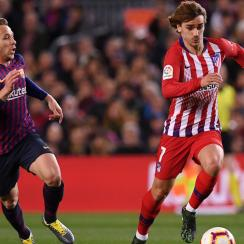 Antoine Griezmann signs with Barcelona