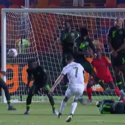 soccer, Riyad Mahrez, algeria, nigeria, 2019 AFCON final, wire