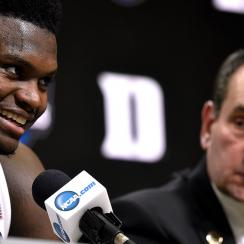 Coach K says Zion Williamson should not have played in Summer League