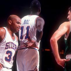 Charles Barkley still thinks Kevin McHale is the best he's played against