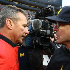 college football, Jim Harbaugh, urban meyer, ohio state buckeyes, michigan wolverines, wire